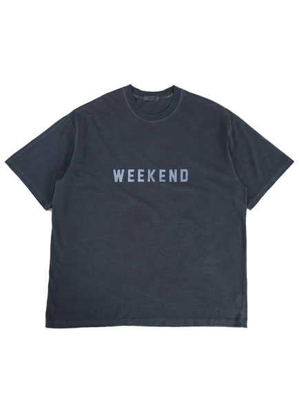 [더오피셜위크앤드]WEEKEND PIGMENT SHORT SLEEVE