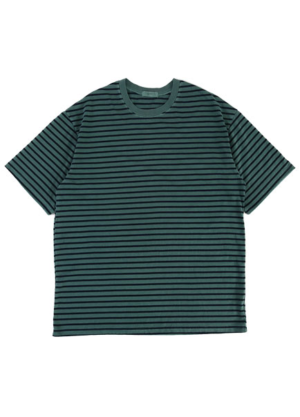 [더오피셜위크앤드]STRIPE OVER SHORT SLEEVE