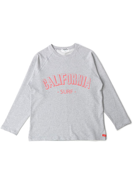 [더오피셜위크앤드]CALIFORNIA PRINT LONG SLEEVE