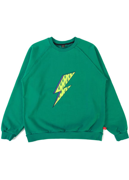 [더오피셜위크앤드]ELECTRIC LOGO SWEAT SHIRT