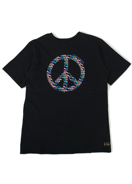 [더오피셜위크앤드]RAINBOW PEACE SHORT SLEEVE
